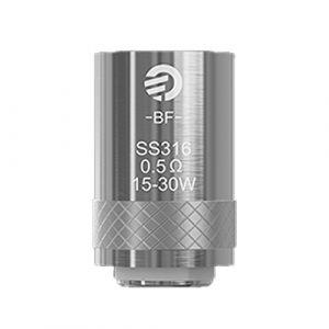 Résistances Cubis BF SS316 0.5 ohm – Joyetech , sans nicotine ni tabac