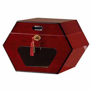 Boîte à cigares en cèdre Hygromètre à température et humidité constantes