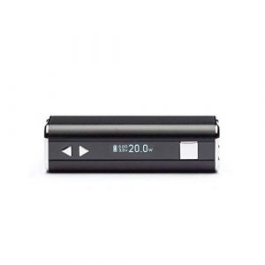 Batterie Istick 20W Eleaf couleur – Noir sans Nicotine ni Tabac