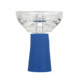 Cgreattech Foyer en Verre et silicone Collure (Blue)