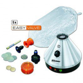 Generateur d'air chaud – volcano classic avec easy valve aroma