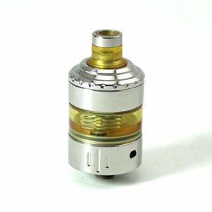 Hussar Style RTA V1.5 Rebuildable Tank Vape Atomizer – Silver, 316 Stainless Steel, 22mm Diameter SXK