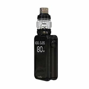 Kit d'origine Eleaf iStick NOWOS avec réservoir ELLO Duro de 6,5 ml avec batterie intégrée de 4 400 mAh Batterie électronique double tête HW-M/HW-N pour recharge plus rapide
