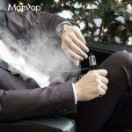 Manvap® GENT 80W Cigarette Électronique, E-Cig de Puissance Réglable, Kit de Vape Module Pour Débutant, Atomiseur Rempli-Dessus Avec Mod Électronique, Sans Nicotine Ni Tabac (Noir)