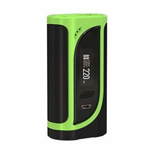 Original 220W Eleaf iKonn 220 Box MOD Alimenté par 18650 Batterie pour Eleaf Ello Réservoir Atomiseur Sortie Max 220w Vapeur E-cigarette (Sans Batterie)