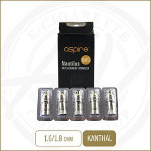 Résistance dual coil Aspire BVC pour Nautilus et Mini Nautilus 1.8 Ohms