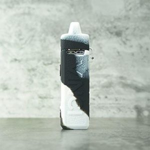 RUIYITECH Coque de Protection en Silicone pour voopoo Vinci Mod Noir/Blanc