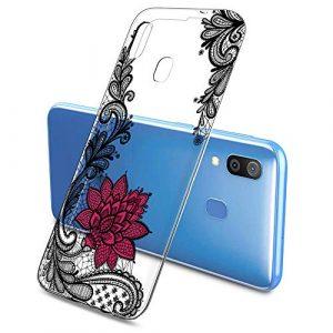Suhctup Coque Compatible pour Samsung Galaxy Note 10 Lite,Transparent en Silicone TPU Souple Etui,Ultra Fin Anti Choc Housse Couverture Bumper Housse de Protection pour Galaxy Note 10 Lite,Blaanc
