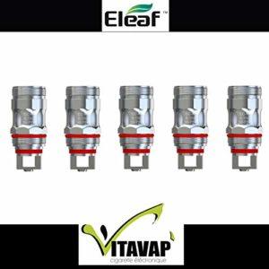 Vitavap' – Pack de 5 résistances EC-m 0,15 ohm pour MELO 5 de Eleaf – GARANTIT ORIGINAL – sans tabac ni nicotine