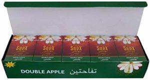 ITK_TRADE Lot de 10 paquets de pommes de soEX, narguilé, chicha Flavour, excellente mousse parfumée – [10 boîtes x 50 g chacun]