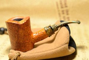Pipe de Tabac Faite à la Main, Pipe à Fumer à Filtre détachable en Bois