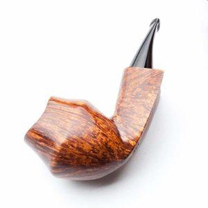 YZ-Pipe Tuyau de Tabac en Bois Massif Tuyau de Tabac Libre-Style Arbre de bruyère matériau Filtre Pot de fumée Tuyau incurvé Tabac à Fumer Marchandises Cadeau de Vacances Haut de Gamme qualité