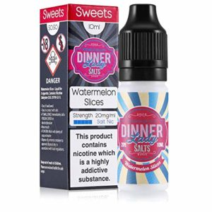 Dinner Lady Sel 10ml 2.0%/20mg 50/50 (Tranches de pastèque)