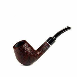 Pipe de Tabac Haut de Gamme, Pipe de Tabac rétro Pierre Nanmu Pipe Empire série Cadeau de Vacances Cadeau d'affaires