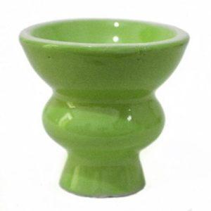 Vente ! Shisha Narguile Bol en céramique avec œillet Vert