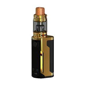 WISMEC Reuleaux RX GEN3 Dual 230W with Gnome King Kit,, pas de nicotine, pas de liquide E (Gloss Gold)