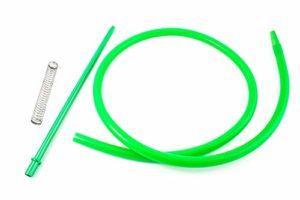 Crochet pour narguilé à chicha – Comprend un ressort et une buse en matériaux nobles aux finitions exceptionnelles… (vert)