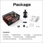 Hellvape – MD RTA 24MM sans Nicotine ni Tabac GUN METAL/PURPLE