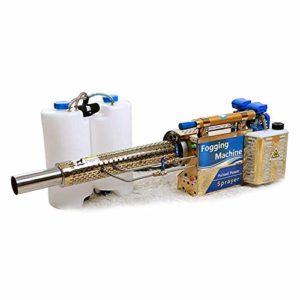 LP-LLL Machine de brumisation 16L Pulvérisateur électrique Atomiseur Portable Fogger Thermique Machine de désinfection et de désinfection pour Magasin Entrepôt Bureau agricole Industriel École Jardin