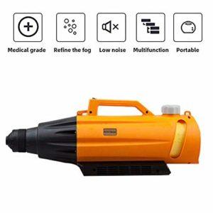 LP-LLL Pulvérisateur ULV électrique – 5L électrique ULV Fogger Machine de brumisation Portable Intelligente Machine de pulvérisation Ultra capacité pour l'hygiène intérieure/extérieure