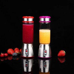 Mdsfe Juicer Multifonctionnel Mini juicer Voyage Presse-Agrumes électrique Portable – Jaune, a4