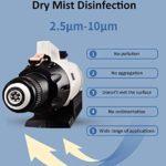 NZBⓇ Électrique Intelligent ULV Pulvérisateur Fogger Mosquito Killer Fogger Dry Mist Désinfection pour Intérieur en Plein Air Lieux Publics Bureau Industriel