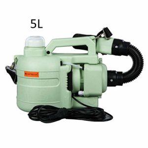 NZBⓇ Pulvérisateur électrique ULV, 5L Portable Fogger Machine Désinfection Machine Désinsectisation Pulvérisateur Mosquito Killer Fogger Désinfection pour l'hygiène intérieure/extérieure