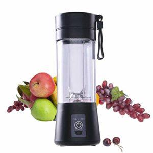 Portable A5B Rechargeable Juice Cup Électrique a4tomatic Juicer Blender Smoothie Machine Extractor – Noir