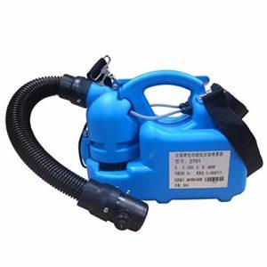 Pulvérisateur électrique ULV – atomiseur portable, pulvérisateur stérilisateur, utilisé pour la désinfection des lieux publics intérieurs et extérieurs, des bureaux agricoles et de l'industrie (6L)