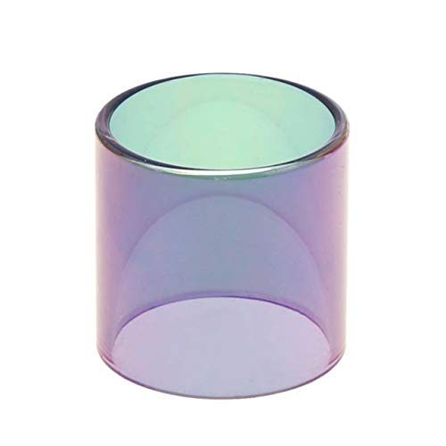 Without brand 5ml coloré Remplacement Arc-en-Verre Pyrex Tube Fit for SMOK TFV8 Big Baby Fit for réservoir Atomiseur Stick V8 Kit Etc (Couleur : Rainbow)