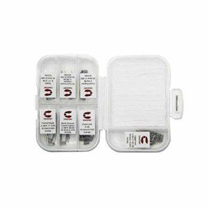 7 en 1 Ni80 / SS316L (42pcs)- Coilology sans Nicotine ni Tabac Ni80