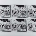 COBRA Virgin Russian 100% Pure Organic Herbal Shisha Flavour Hookah 0.5 kg Total Weight Concentrate Great Number of Fruit Tastes Tea Leaf Based Nicotine-Free Light Fortress Medium Heat Resistant