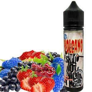 E-Liquide VOLCAN by ElecVap – Sans Nicotine NI TABAC – Format 120ml TPD – 0MG Nicotine – E-Liquide pour Cigarettes Electroniques – E Vaper Liquids