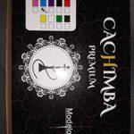 JSG 3079-1 Cachemire Premium, 1 sortie (JSG.HOOKAH) Chicha de 55 cm de hauteur, 1 tuyau, 1 pince, Narguile, Hookah, Pipe à eau bleu