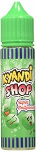 KYANDI SHOP E-Liquide pour Cigarette Électronique 50 ml Super Bollywood sans Nicotine Ni Tabac
