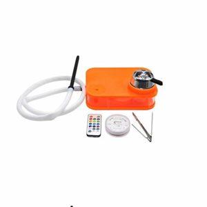 LiLiG Narguilé Arabe, narguilé de narguilé de narguilé de × Acrylique fixé au Portable × 15.5CM
