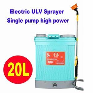 LP-LLL Pulvérisateur ULV électrique – Pulvérisateur électrostatique, Machine de Machine à Brouillard Portable Désinfection de Brouillard de Tueur de Moustique 20L (éteindre Le Pistolet et arrêter)