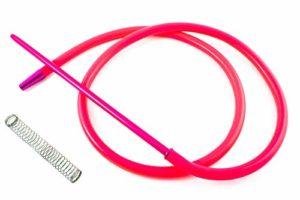 PAIDE P Crochet pour narguilé à Chicha – Comprend Un Ressort et Une buse en matériaux Nobles aux Finitions exceptionnelles… (Rosa)