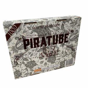 PIRATUBE : 1000 Tubes a Cigarette | Tubes avec filtres | Boite rigide pas de tube écrasé