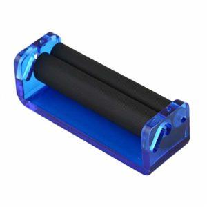 Swiftswan Machine à cigarette manuelle en acrylique 70 mm Couleur aléatoire droite