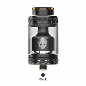 DOVPO BLOTTO RTA 2ml Réservoir Atomiseur E-Cig – Sans Nicotine ni Tabac (Noir)
