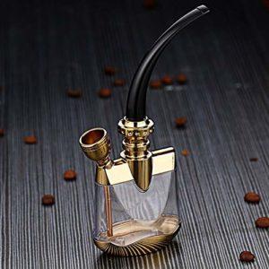 en Alliage De Zinc Filtre Hookah Tuyau, Filtrage Multiple Pipe De Tabac Porte-Cigarette Nouveau Shisha Set Shisha Accessoires Coffret Portable Hookah,B