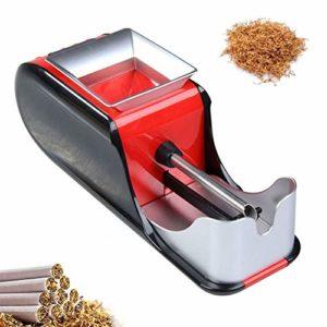 GUOJIN Machine À Rouler Les Cigarettes – Automatique Électrique Fabricant D'injecteur De Rouleau De Tabac, Weight: 470G Rouge/Bleu,Rouge