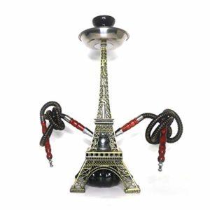 Narguilé à narguilé – Tour Eiffel – Double tube – Narguilé