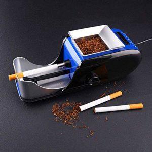 Rouleau Automatique Électrique De Cigarette D'injecteur De Tabac De Machine À Rouler -Accessoires De Fumeurs Pratiques – Gagnez du Temps Et du Travail,Bleu