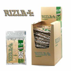 Tabac du Bassigny Boite de 50 Sachets de Filtres Slim – Rizla Bamboo