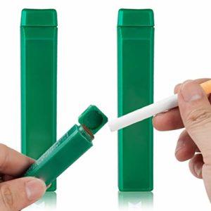 XYZLEO Carte Aromatique Cigarette (2 Pcs) Poudre Carte Fraicheur Menthol Extraction De Essences VéGéTales Filtre Menthol Saveur De Menthe des Poumons RafraîChissants Rizla Menthol