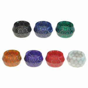 Armerah Lot de 3 anneaux Drip Tip pour Smok TFV16/TFV-Mini V2 Résine époxy large