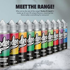 Double Pack – 2 x 100ml Ananas E-liquide, 70/30, Vape Juice E-Liquide Sub Ohm Vape Liquid Flavoured eJuice E Cigarette Liquid, Sans nicotine,120ml bouteille, Short Fill Ecig (Rodeo E Liquid)