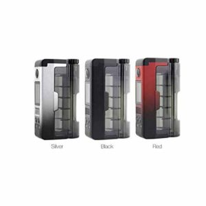 Dovpo – Topside Lite 90W TC Squonk Mod sans Nicotine ni Tabac ACIER
